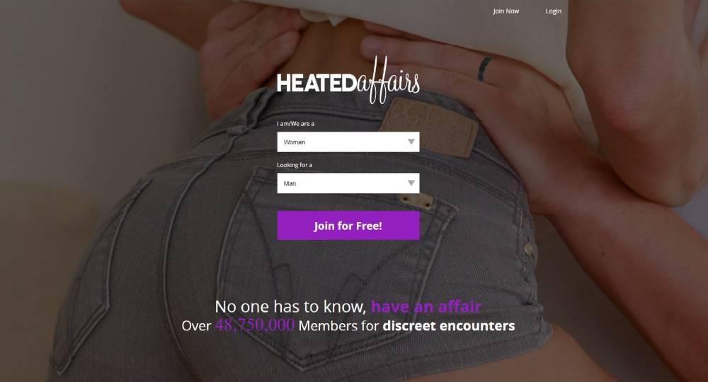 HeatedAffairs main page