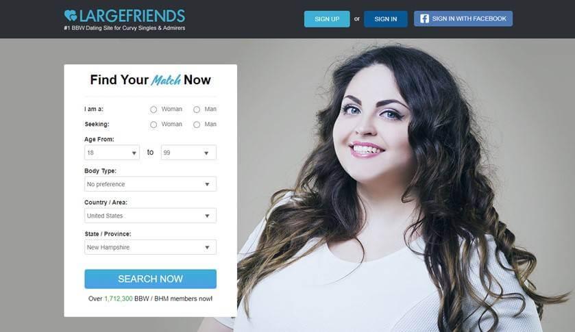 Largefriends main page