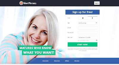 WantMatures signup