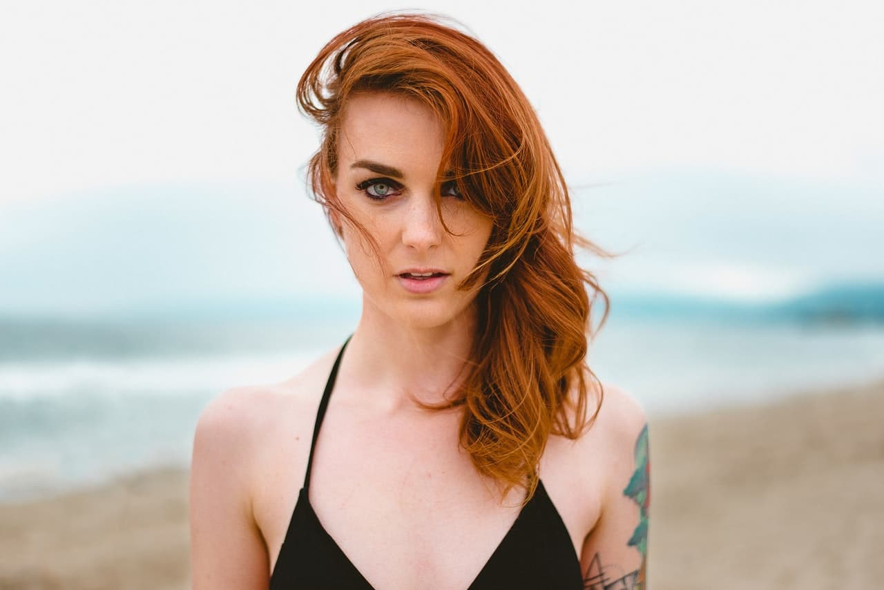 red head girl